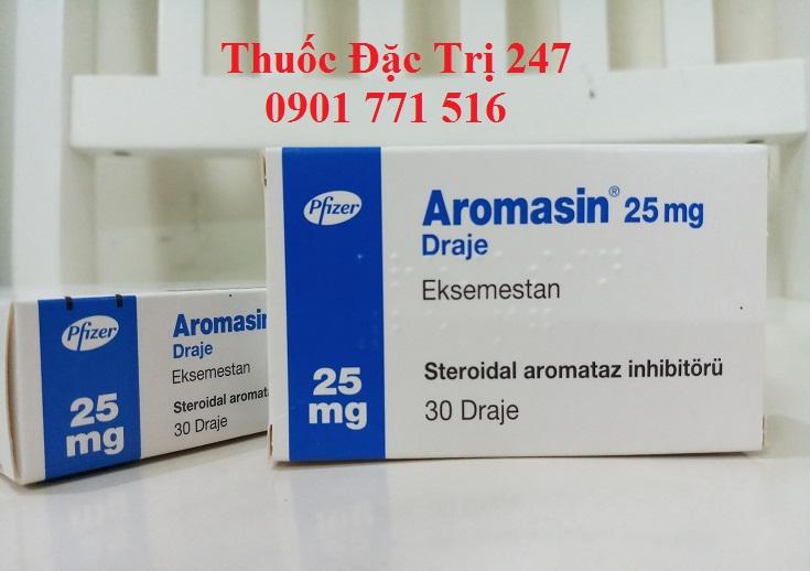 Thuốc aromasin 25mg exemestane điều trị ung thư vú - Giá thuốc Aromasin - Thuốc đặc trị 247 (1)