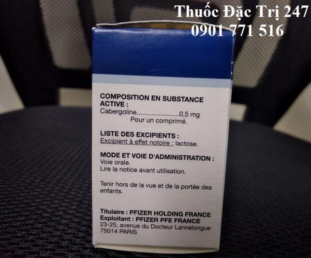 Thuoc Dostinex 0.5mg Cabergoline dieu tri chung vo sinh o phu nu - Thuoc dac tri 247 (1)
