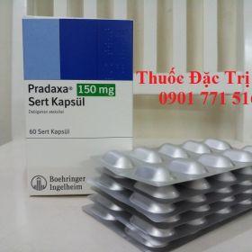 Thuoc Pradaxa 150mg Dabigatran etexilate dieu tri dong mau - Thuoc dac tri 247