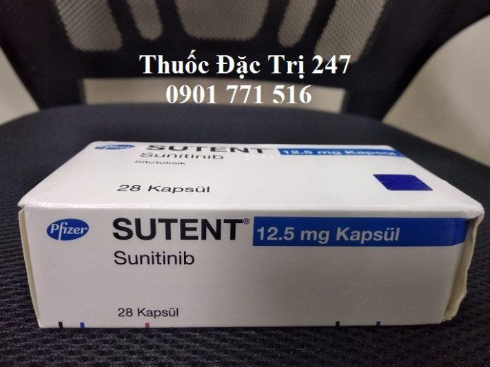 Thuoc Sutent 12.5mg Sunitinib tri ung thu than, tuyen tuy - Thuoc dac tri 247 (1)