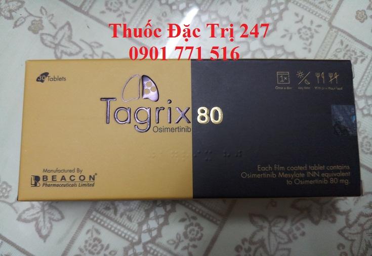 Thuoc Tagrix 80mg Osimertinib dieu tri ung thu phoi - Thuoc dac tri 247