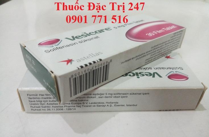 Thuoc Vesicare 5mg Solifenacin succinate tri trieu chung duong tieu khong tu chu - Thuoc dac tri 247 (3)