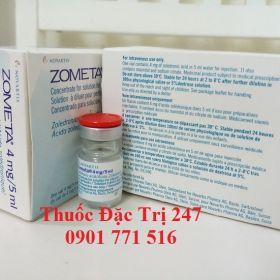 Thuốc Zometa 4mg5ml axit Zoledronic trị ung thư tủy xương - Giá thuốc Zometa - Thuốc đặc trị 247