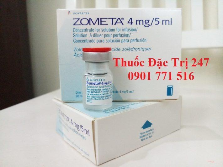Thuốc Zometa 4mg5ml axit Zoledronic trị ung thư tủy xương - Giá thuốc Zometa - Thuốc đặc trị 247 (3)