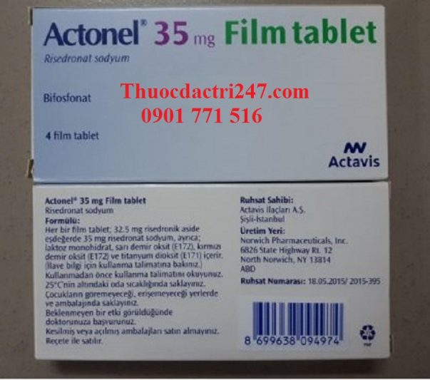 Thuoc actonel 35mg risedronate dieu tri loang xuong - Thuoc dac tri 247 (1)