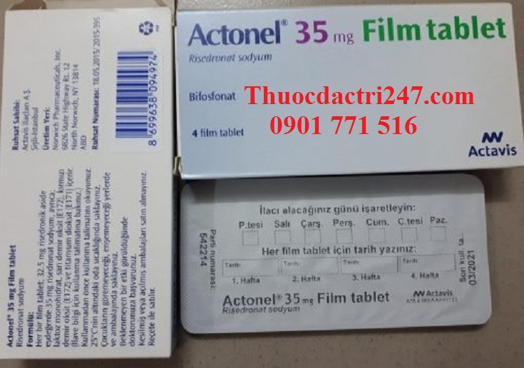 Thuoc actonel 35mg risedronate dieu tri loang xuong - Thuoc dac tri 247 (2)