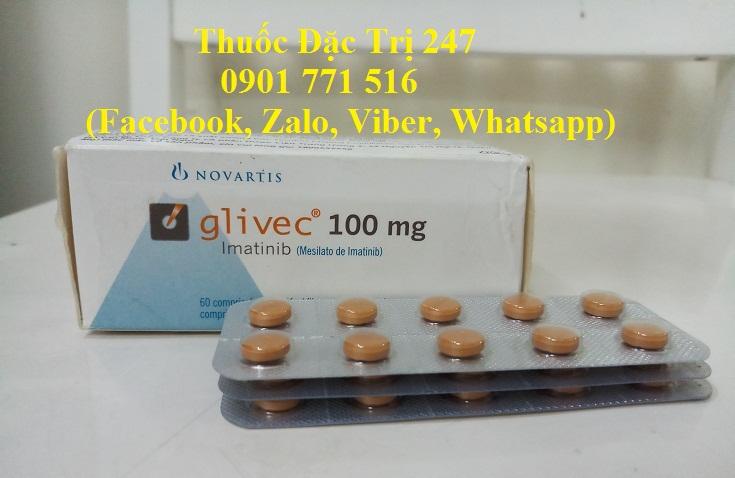Thuoc glivec 100mg imatinib dieu tri ung thu bach cau man tinh - Thuoc dac tri 247 (1)