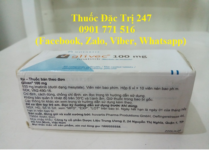 Thuoc glivec 100mg imatinib dieu tri ung thu bach cau man tinh - Thuoc dac tri 247 (3)