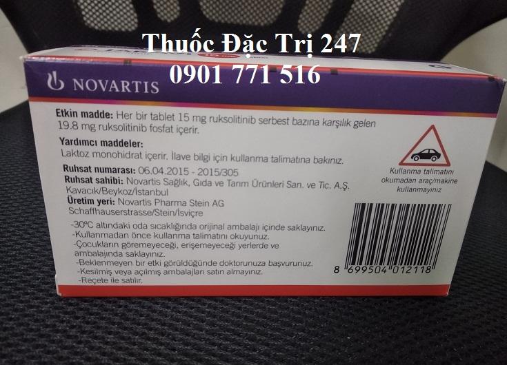 Thuoc jakavi 15mg ruxolitinib tri roi loan tuy xuong - Thuoc dac tri 247 (2)