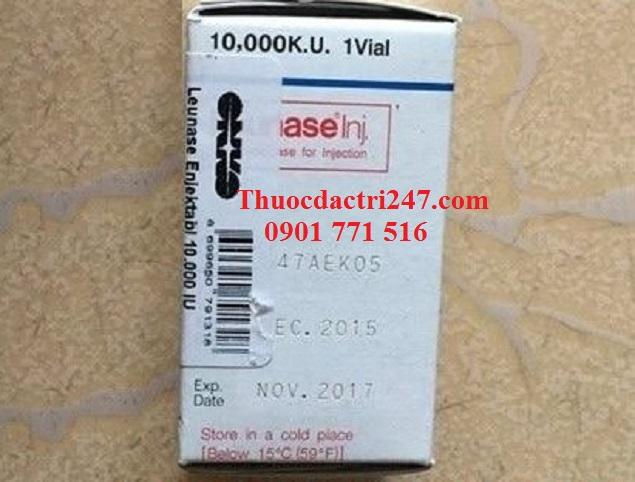 Thuốc leunase 10.000 KU L-asparaginase bệnh bạch cầu cấp - Thuốc đặc trị 247 (1)