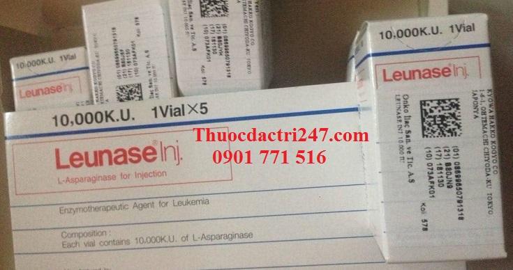 Thuốc leunase 10.000 KU L-asparaginase bệnh bạch cầu cấp - Thuốc đặc trị 247 (3)