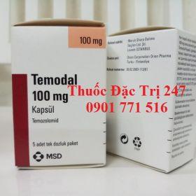 Thuoc temodal 100mg temozolomide dieu tri ung thu nao - Thuoc dac tri 247
