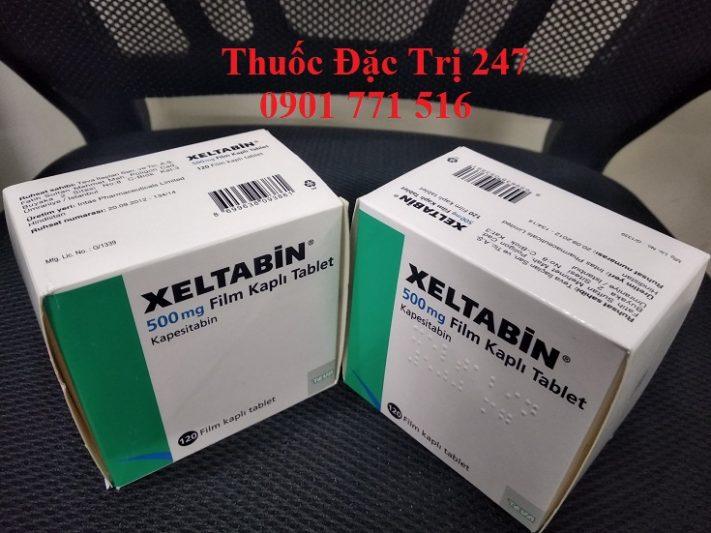 Thuoc xeltabine 500mg kapesitabin dieu tri ung thu dai truc trang, ung thu vu, ung thu da day - Thuoc dac tri 247 (2)
