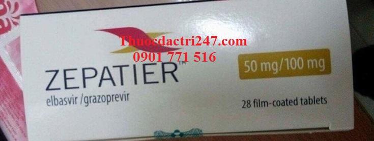 Thuốc zepatier 50mg100mg elbasvir và grazoprevir điều trị viêm gan C - Thuốc đặc trị 247 (2)