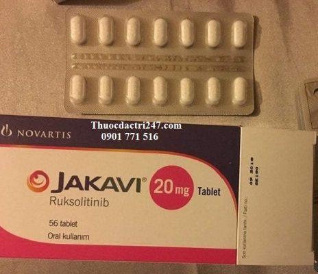 Thuốc jakavi 20mg ruxolitinib điều trị rối loạn tủy xương - Thuốc đặc trị 247 (2)