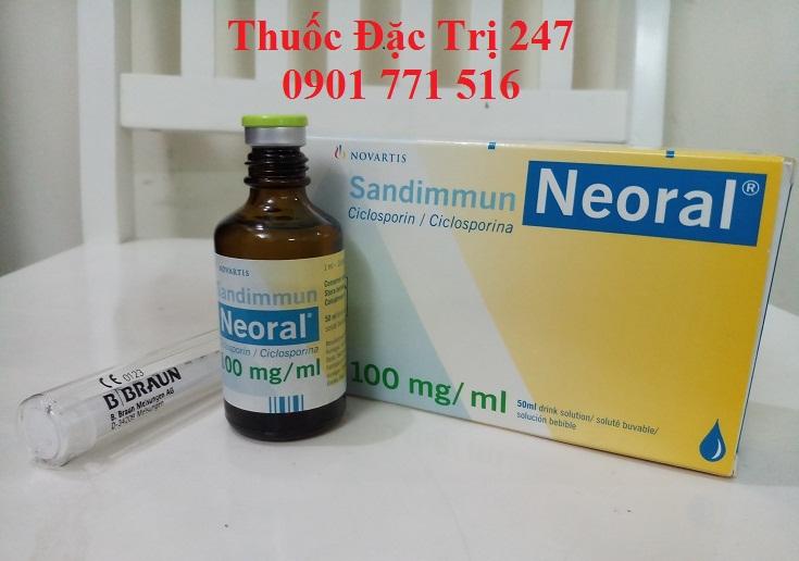 Thuốc neoral 100mg ciclosporin ngăn ngừa thải ghép - Giá thuốc ciclosporin - Thuốc đặc trị 247 (1)