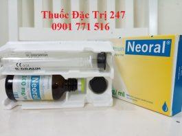 Thuốc neoral 100mg ciclosporin ngăn ngừa thải ghép - Giá thuốc ciclosporin - Thuốc đặc trị 247