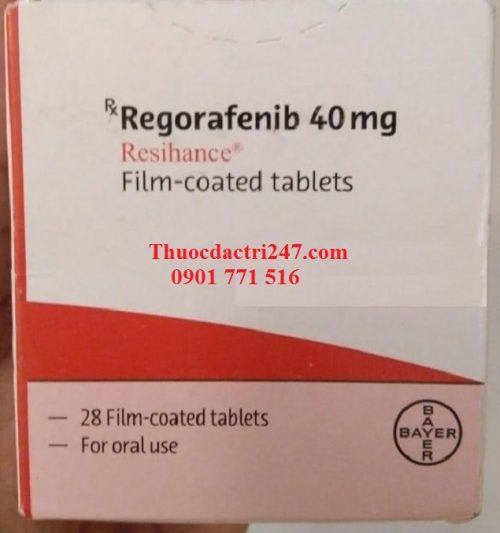 Thuốc regorafenib 40mg resihance điều trị ung thư trực tràng - Thuốc đặc trị 247 (3)