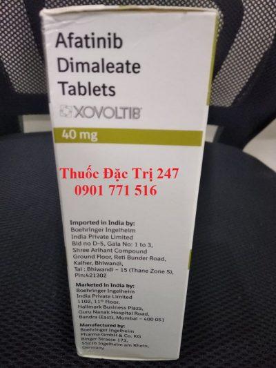 Thuốc xovoltib 40mg afatinib điều trị ung thư phổi - Thuoc đac trị 247 (3)
