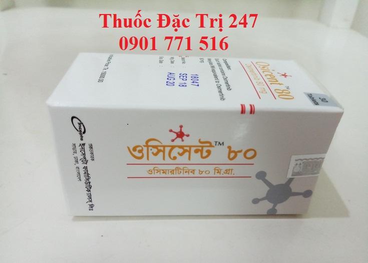 Thuốc Osicent 80mg Osimertinib điều trị ung thư phổi - Thuốc đặc trị 247 (3)