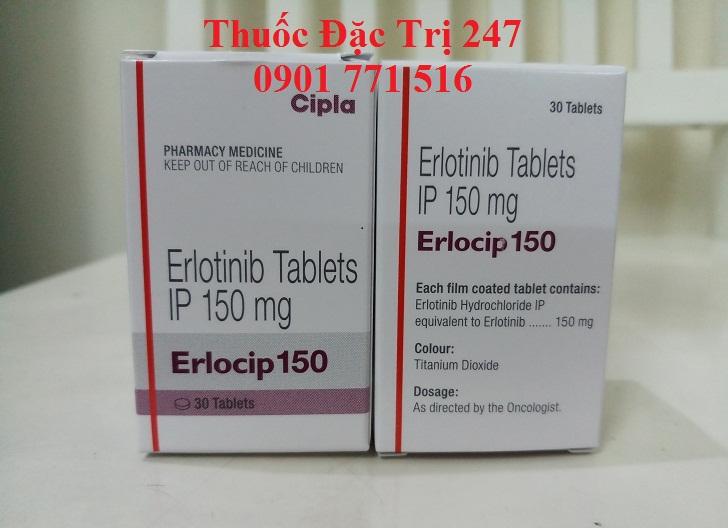 thuoc erlocip 150mg dieu tri ung thu phoi, mua thuoc erlotinib o dau - thuoc dac tri 247