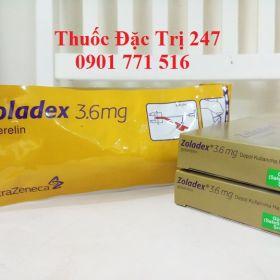 Thuoc Zoladex 3.6mg Goserelin tri ung thu tuyen tien liet, ung thu vu - Thuoc dac tri 247