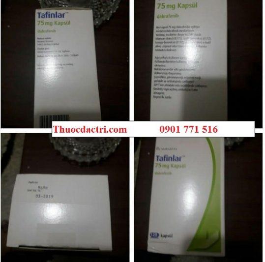 Thuốc tafinlar 75mg dabrafenib điều trị ung thư da, ung thư phổi - Thuốc đặc trị 247 (2)