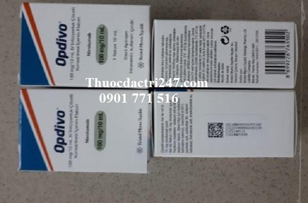 Thuốc opdivo 100mg10ml nivolumab điều trị ung thư trúng đích - thuoc dac tri 247 (2)