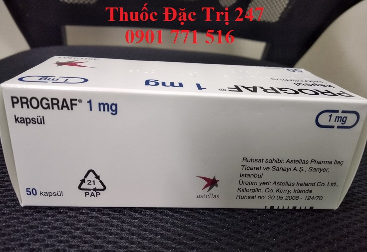 Thuốc Prograf 1mg Tacrolimus ngăn ngừa thải ghép nội tạng - Thuốc đặc trị 247 (2)