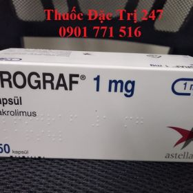 Thuốc Prograf 1mg Tacrolimus ngăn ngừa thải ghép nội tạng - Thuốc đặc trị 247