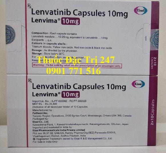 Thuốc Lenvima 10mg Lenvatinib điều trị ung thư tuyến giáp, ung thư gan thận - Thuốc đặc trị 247 (1)