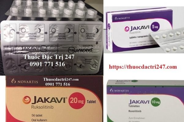 Thuốc Jakavi điều trị rối loạn tủy xương, công dụng thuốc Jakavi, giá thuốc Ruxolitinib - Thuốc đặc trị 247 (3)