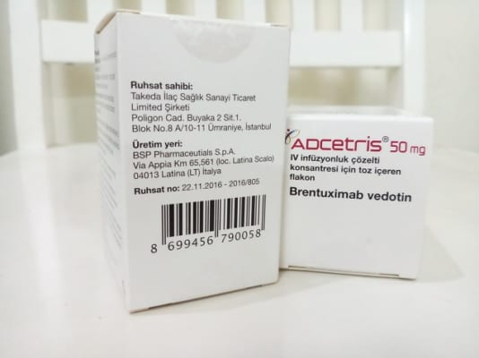 thuoc adcetris 50mg brentuximab dieu trị ung thu mau, mua thuoc thuoc adcetris o dau - thuoc dac tri 247