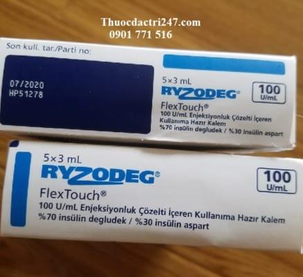 thuoc ryzodeg 100uml insulin dieu tri benh tieu duong, mua thuoc ryzodeg o dau - thuoc dac tri 247