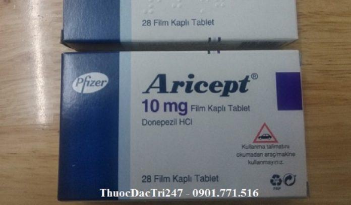 thuoc-aricept-10mg-donepezil-la-gi