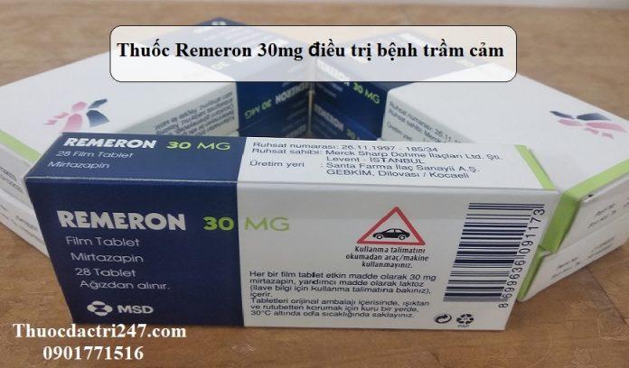 Thuoc-Remeron-30mg-dieu-tri-benh-tram-cam