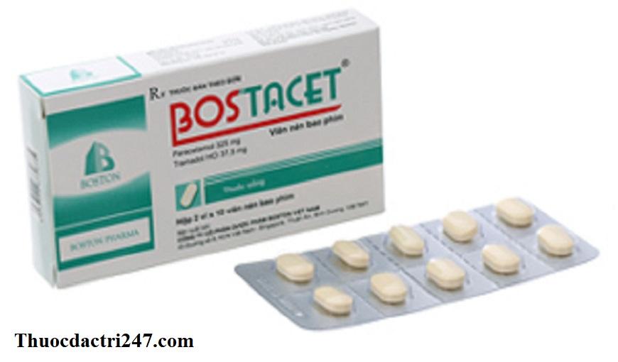 Thuoc-Bostacet-Paracetamol-Tramadol-HCl-Cong-dung-va-cach-dung