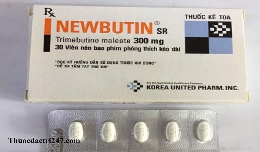 Thuoc-Newbutin-300mg-Trimebutin-Cong-dung-va-cach-dung