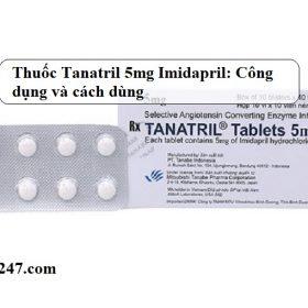 Thuoc-Tanatril-5mg-Imidapril-hydroclorid-Cong-dung-va-cach-dung