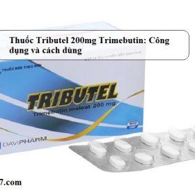 Thuoc-Tributel-200mg-Trimebutin-Cong-dung-va-cach-dung