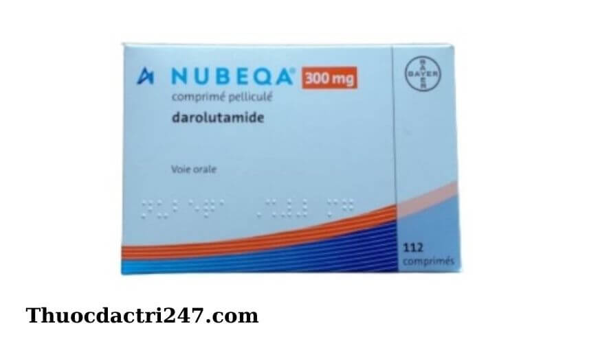 Thuoc Nubeqa darolutamide Cong dung va cach dung thuoc1